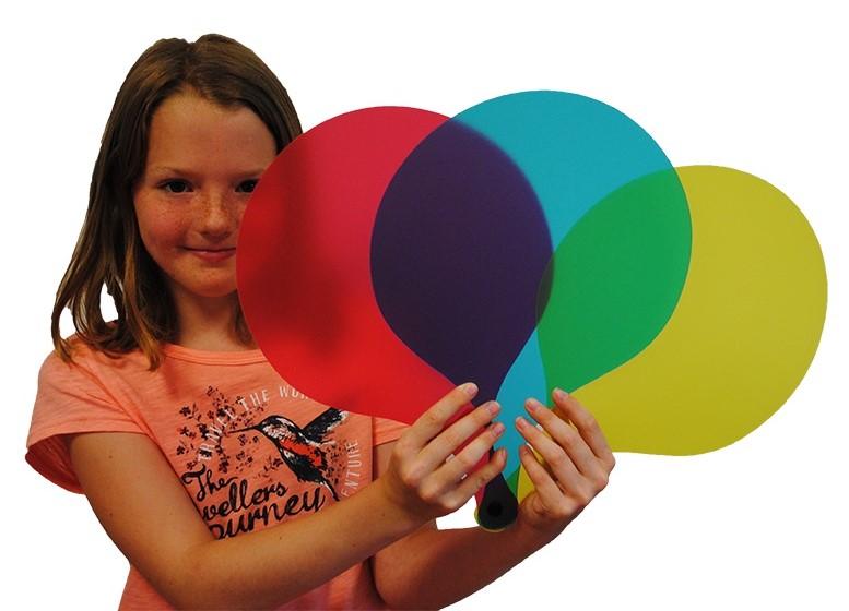 Palas de colores grandes