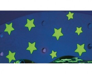 Estrellas fotoluminiscentes