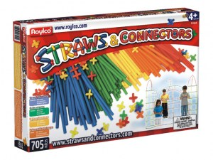 juego construccion straws and connectors 4